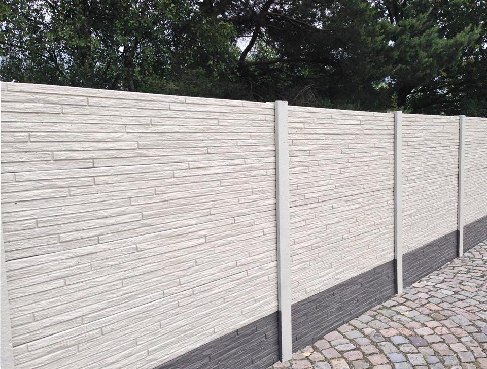 Clôture en béton-palissade en béton-gabion-plaque de béton-betafence ...