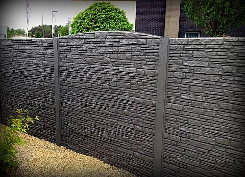 pose de cl ture dl jardin mons cl ture en bton cloture rigide betafence gabion palissade en. Black Bedroom Furniture Sets. Home Design Ideas